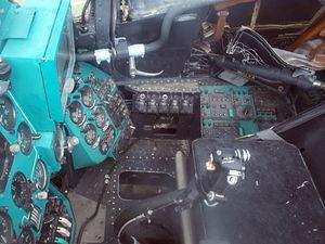 Mil Mi-24P Hind pilot seat pic1.JPG