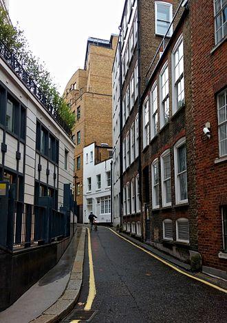 Milford Lane - Milford Lane looking north
