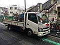 Minato-ku bike share service collecting vehicle.jpg