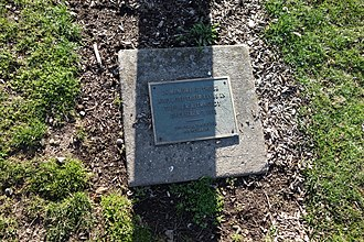 1993 Long Island Rail Road shooting - A memorial to the shooting in nearby Mineola, New York.