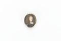 Miniatyrporträtt av man i brun allongeperuk, rustning och spetskrås - Skoklosters slott - 93243.tif