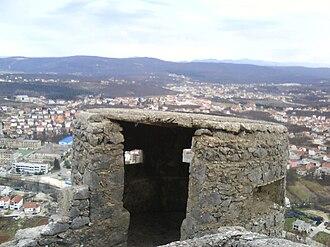 Široki Brijeg - Italian fort above Široki Brijeg