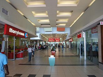 Marrybrown - A Marrybrown chain inside the shopping mall in Dar es Salaam, Tanzania.