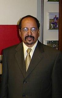 Mohamed Abdelaziz (Sahrawi politician) Sahrawi politician