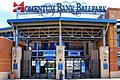 Momentum Bank Ballpark Entrance Midland 2021.jpg