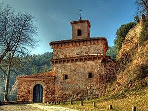 Navarro-Aragonese - Image: Monasterio de Suso (2)