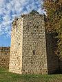 Monestir de Sant Cugat del Vallès, torre de la muralla.JPG