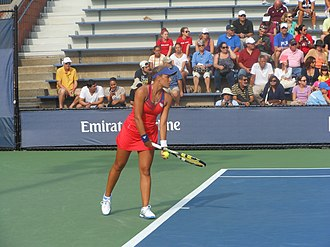 Monica Puig - Puig at the 2013 US Open
