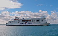 ferry Mont Saint Michel Brittany Ferries