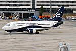 Montenegro Airlines, 9H-OME, Boeing 737-505 (30516255728) (2).jpg