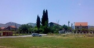 Town and Metropolitan municipality in Podgorica, Montenegro