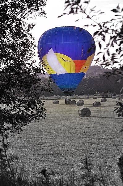 Montgolfière à Fleurville