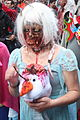 Montreal Zombie Walk 2015 - Zombie Elsa and her mangled Olaf (22466147260).jpg
