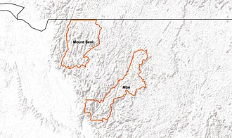 Crystal Mountains National Park - Image: Monts de Cristal twin national park