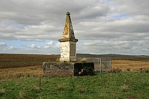 Richard Cameron (Covenanter) - The Covenanters Monument at Airds Moss