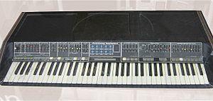 Polymoog - Polymoog Synthesizer 203a