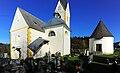 Moosburg Tigring Pfarrkirche hl Egyd mit Antoniuskapelle und Karner 06112010 217.jpg
