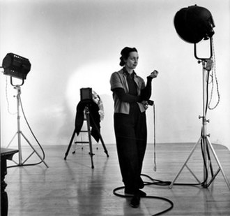 Barbara Morgan (photographer) - Morgan in her studio, 1941