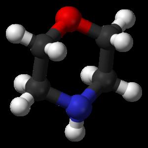 Morpholine - Image: Morpholine from xtal 3D balls B