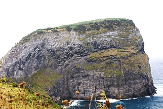 Castelo Branco (Horta) - The Morro de Castelo Branco, a protected area for marine and migratory birds