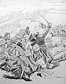 Mort du capitaine Hensel à Malborghetto, le 17 mai 1809.jpg