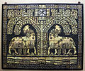 Mosaic with lambs and excerpts from the Psalms, c 1910.jpg