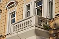 Moscow, Sadovaya-Kudrinskaya 26-40 c.4 - central balcony (42052301640).jpg