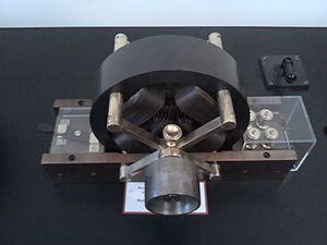 Nikola Tesla Museum - Image: Moteur à induction