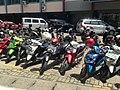 Motorcycles parked in Ilir Barat Permai.jpg