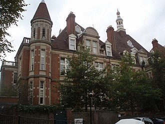 Mount Vernon Hospital - The former hospital in Hampstead