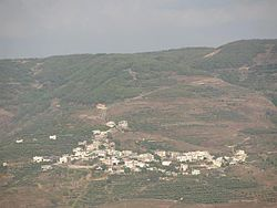 View of Muklous from a distance