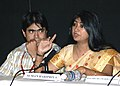 Ms Suman Haripriya, (Director) of the film Kadam Tale Krishna Nache addressing a press conference during the 37th International Film Festival (IFFI-2006) in Panaji, Goa on November 26, 2006.jpg