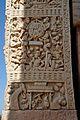 Muchilinda - South Face - North Pillar - West Gateway - Stupa 1 - Sanchi Hill 2013-02-21 4334.JPG