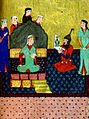 Muhammad Musá al-Mudhahhib - Alexander the Great Admires His Portrait Made by Nushabah - Walters W606278B - miniature.jpg