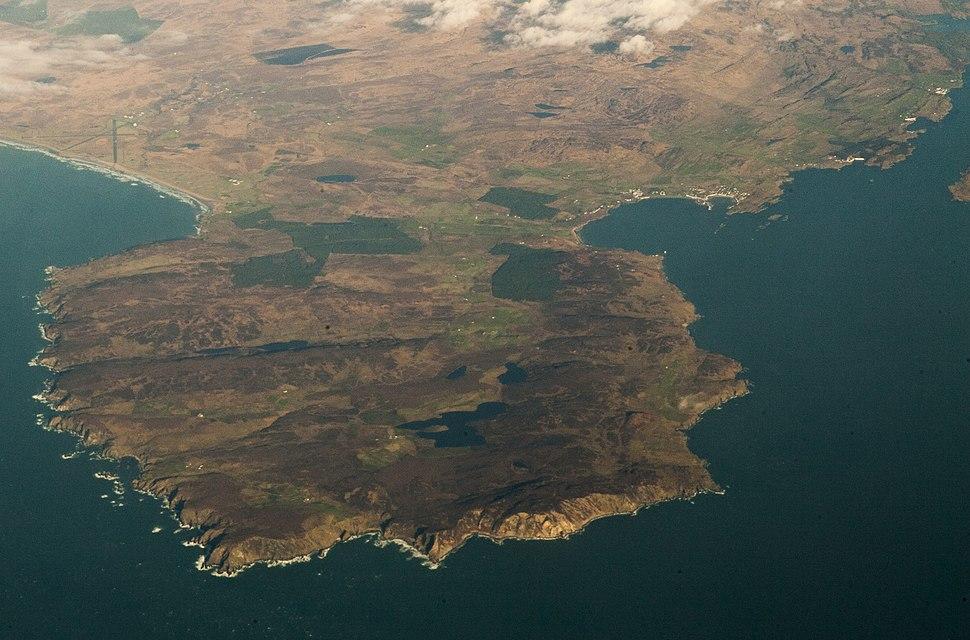 Mull of Oa, Islay aerial