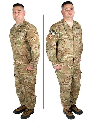 Uniforms of the United States Armed Forces - Image: Multi Cam trans
