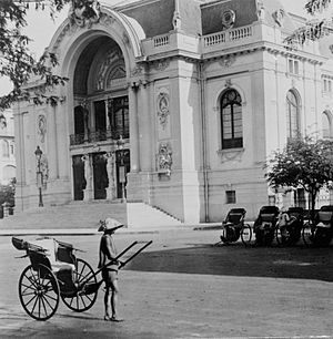 Municipal Theatre, Ho Chi Minh City - The Municipal Theatre in 1915