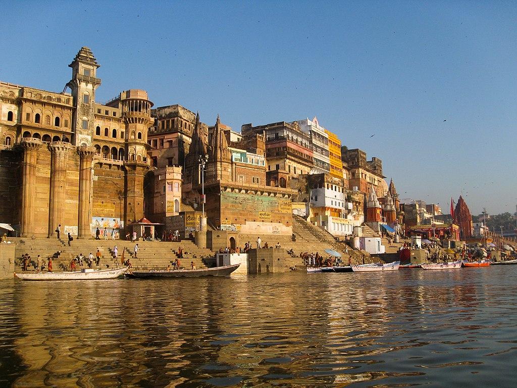 Munshi Ghat in Varanasi