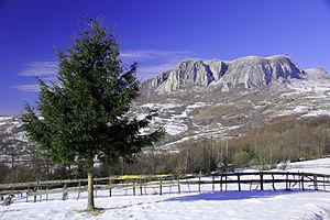 Blăjeni - Image: Muntele Vulcan