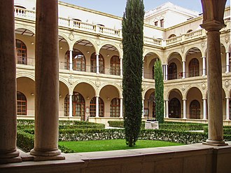 University of Murcia - Faculty of Law cloister (La Merced campus)