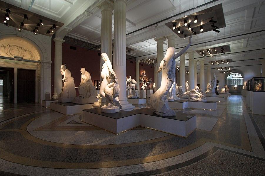 Sculptures in Musée de Picardie(Amiens, France)