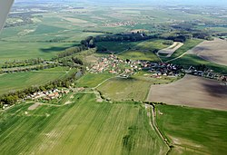 Němčice from air K2 -1.jpg