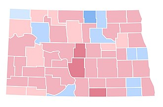 1992 United States presidential election in North Dakota - Image: ND1992