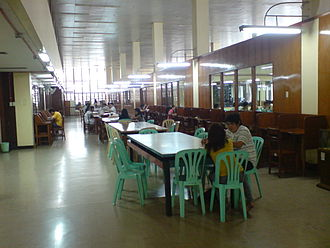 National Library of the Philippines - The National Library's Filipiniana Reading Room.