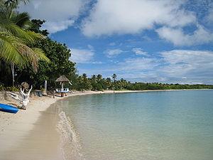 Nacula - A beach on Nacula