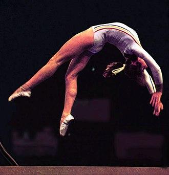 Nadia Comăneci - Comăneci in 1976