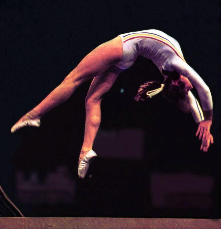 Nadia Comăneci Montreal1976f