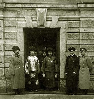 Mongolia (1911–24) - Namnansüren in delegation to St. Petersburg