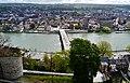 Namur Blick von der Zitadelle auf die Pont des Jambes 3.jpg