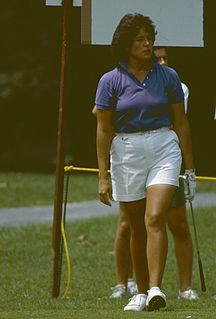 Nancy Lopez American professional golfer